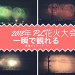 打ち上げからからフィナーレまで2018年PL花火大会【動画観戦】
